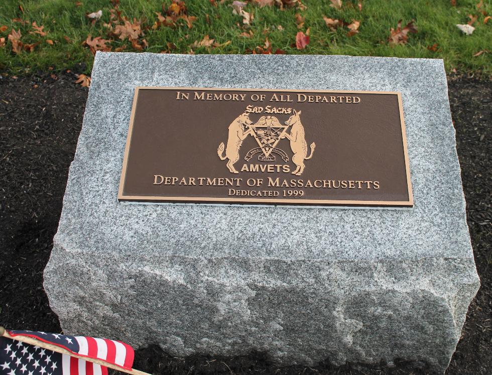 Bourne Massachusetts National Cemetery Memorial Walkway - All Departed AM Vets