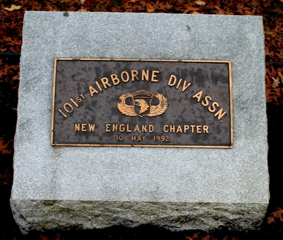 Bourne Mass National Cemetery - 101st Airborne Division Memorial
