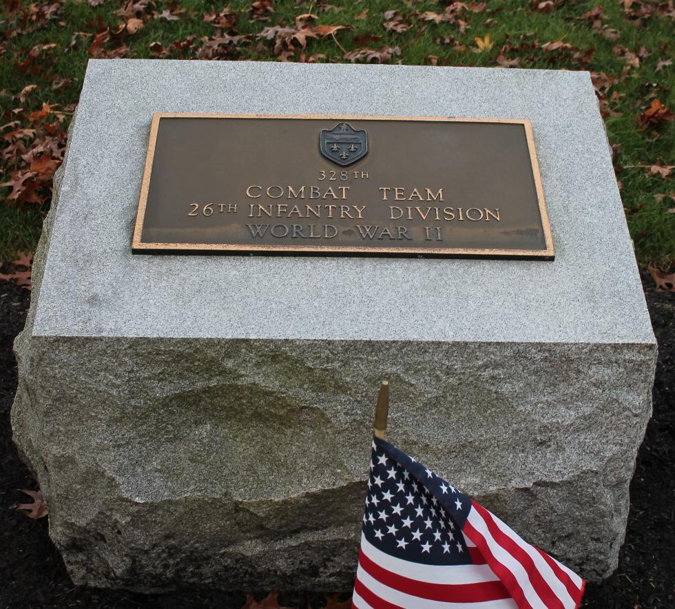 Bourne Mass National Cemetery - 328th Combat Team Memorial