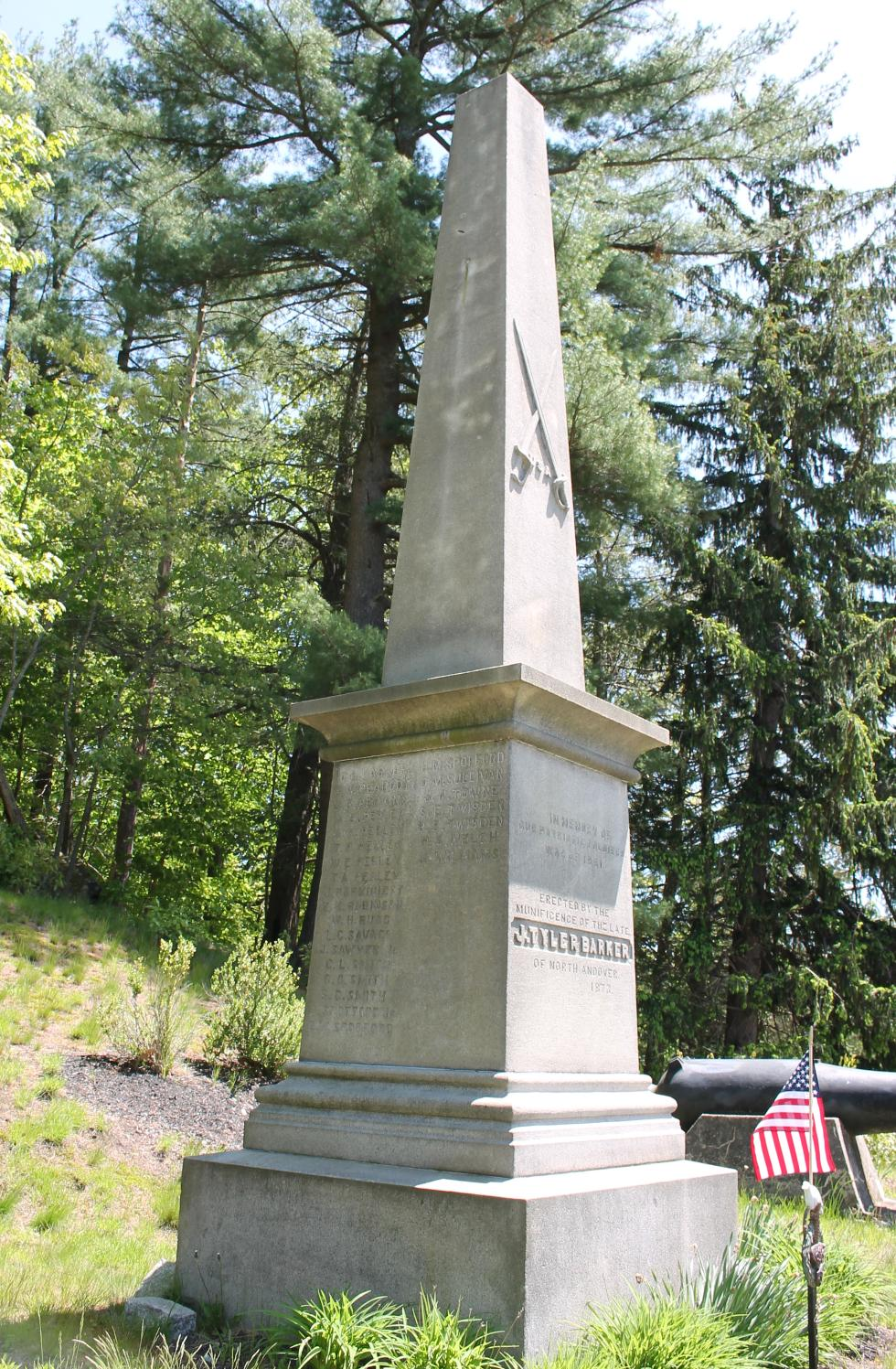 Boxford Massachusetts Civil War Memorial