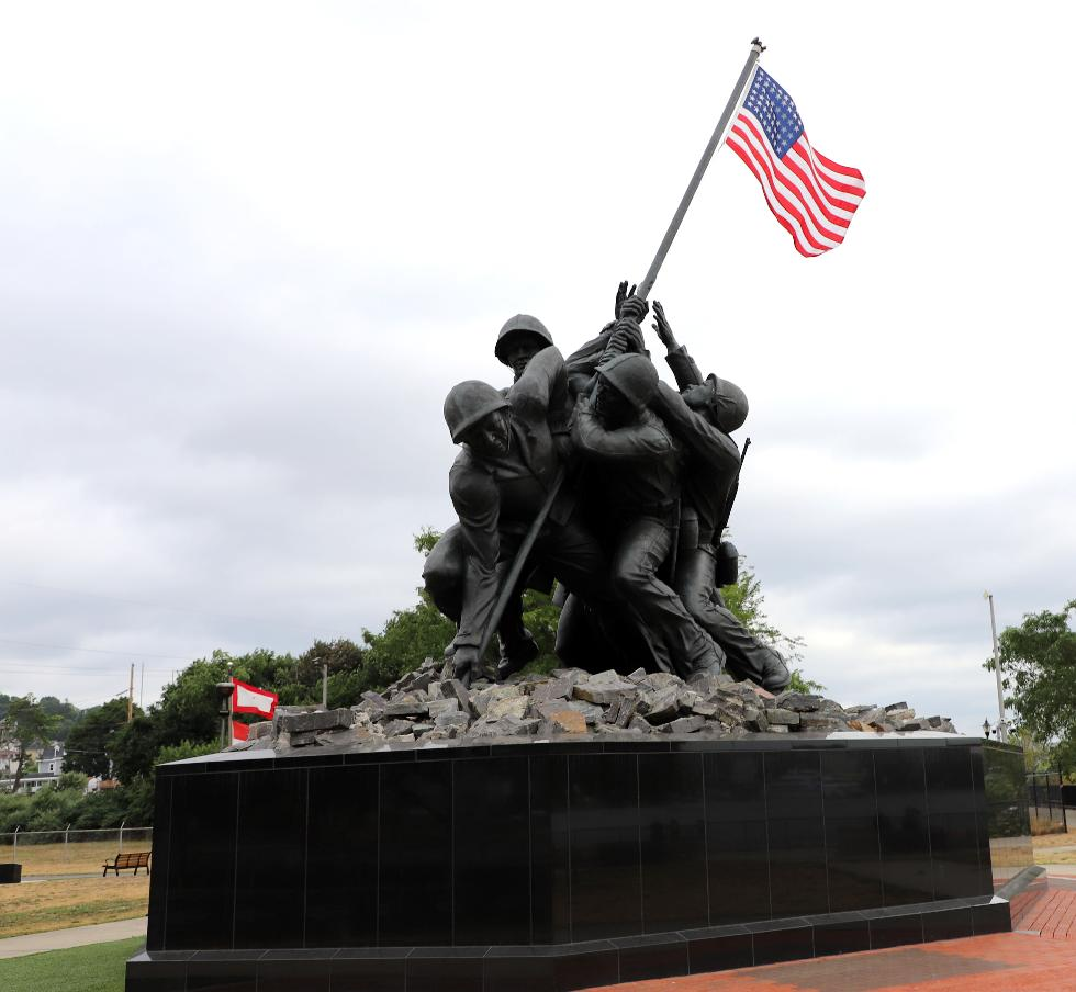 Fall River Massachusetts Iwo Jima Memorial