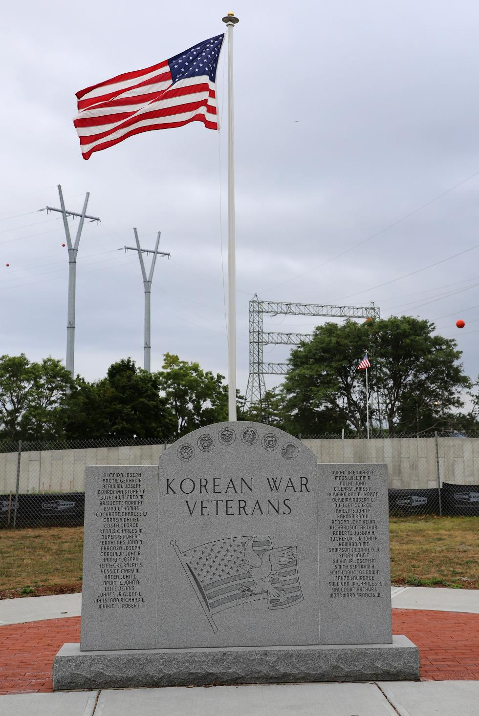 Fall River Massachusetts Korean War Veterans Memorial