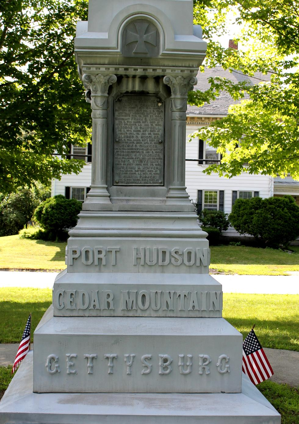 Hardwick Massachusetts Civil War Veterans Memorial