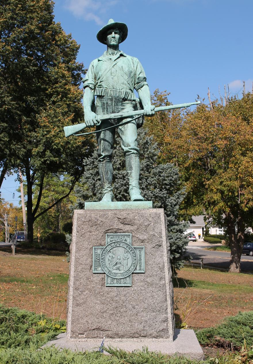 Haverhill Massachusetts Spanish American War Veterans Memorial