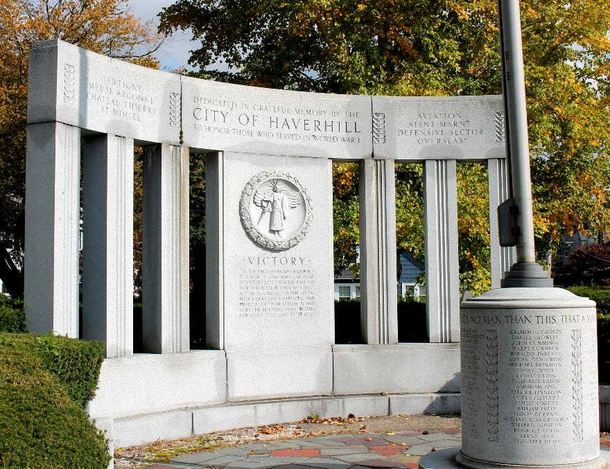 Haverhill Massachusetts World War I Aviators Memorial