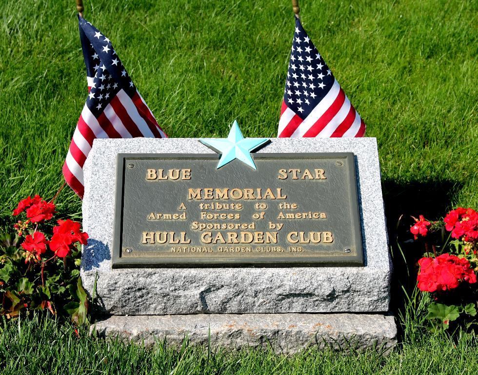 Hull Massachusetts Blue Star Veterans Memorial