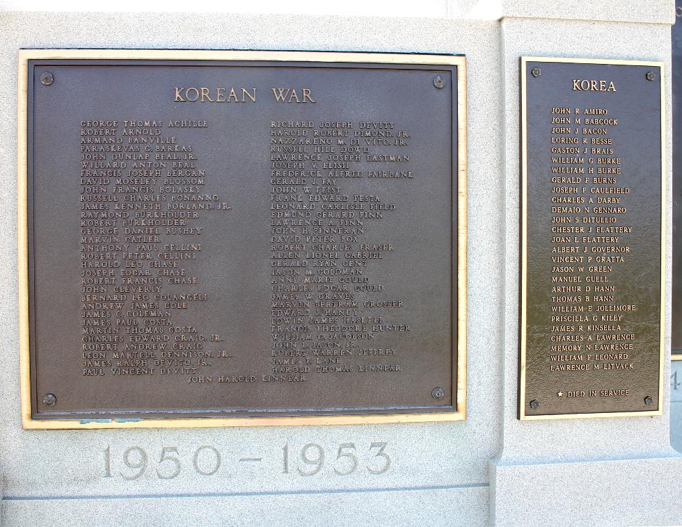 Hull Massachusetts Korean War Veterans Memorial