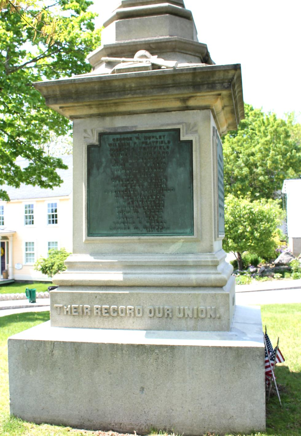 Ipswich Massachusetts Civil War Memorial