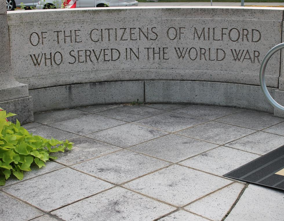 Milford Massachusetts World War I Veterans Memorial