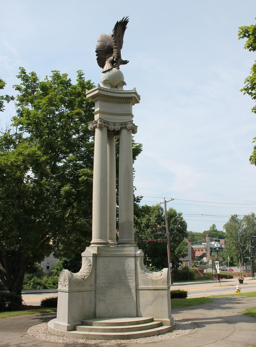 Northbridge Massachusetts Civil War Memorial