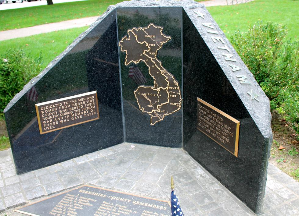 Pittsfield Massachusetts Vietnam War Veterans Memorial