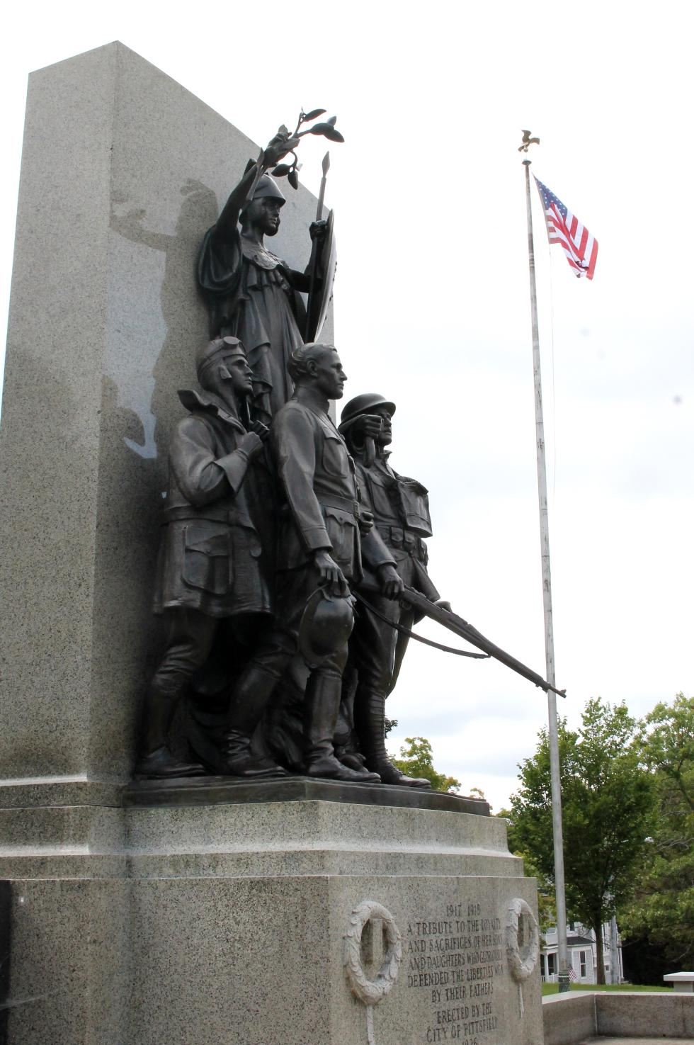 Pittsfield Massachusetts All Wars Veterans Memorial