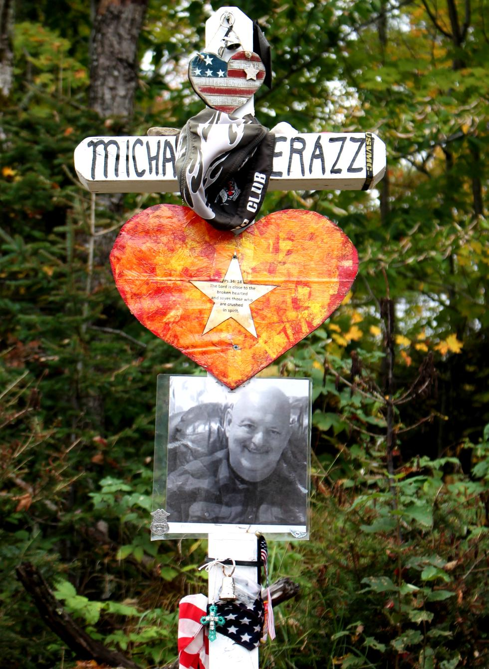 Michael Ferazzi lost in Randolph NH Motorcycle Accident