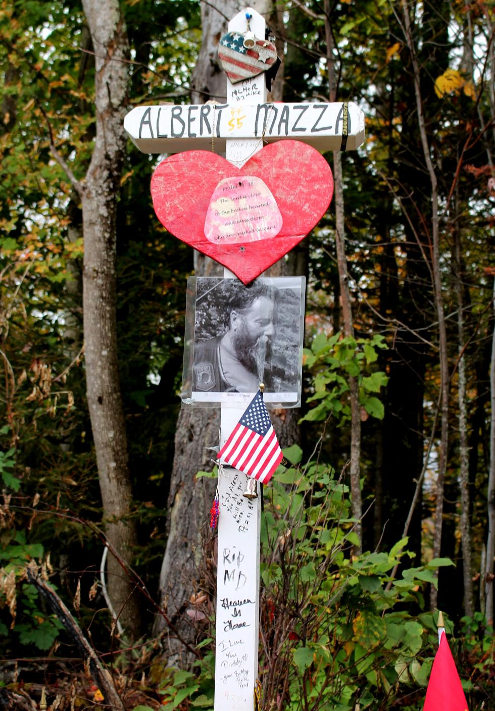 Albert Mazza Jr. - Lee NH Lost in Randolph NH Motorcycle Tragedy