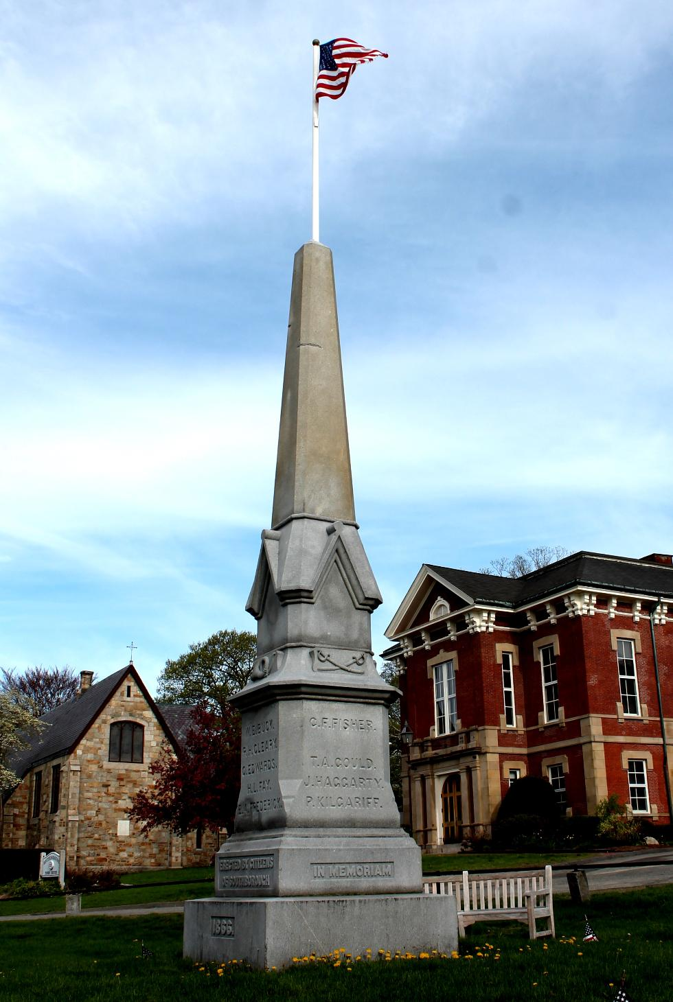 Southborough Massachusetts Civil War Veterans Memorial