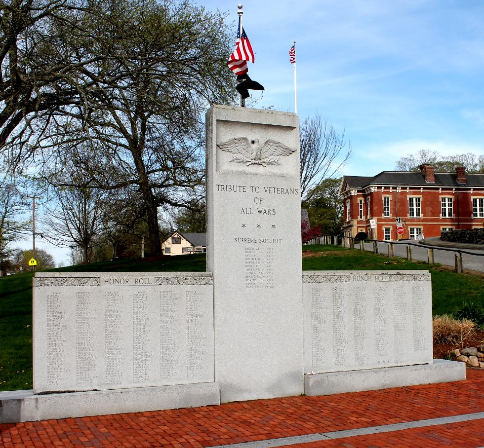 Southborough Massachusetts Veterans Memorial