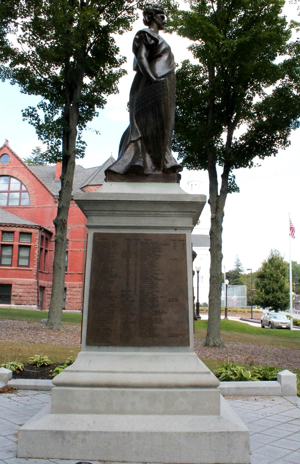 Spencer Mass Civil War Veterans Memorial