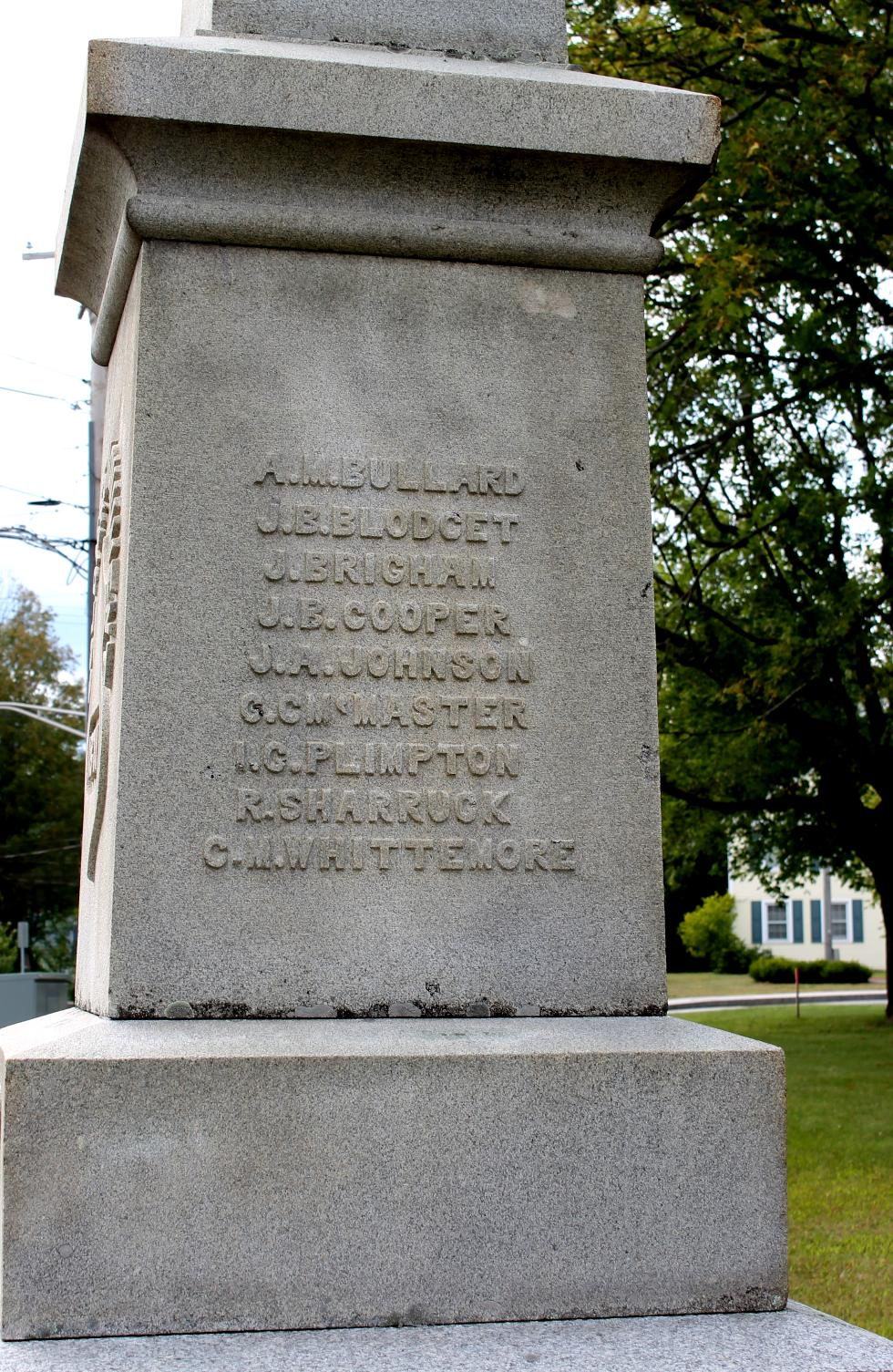 Sturbridge Massachusetts Civil War Memorial