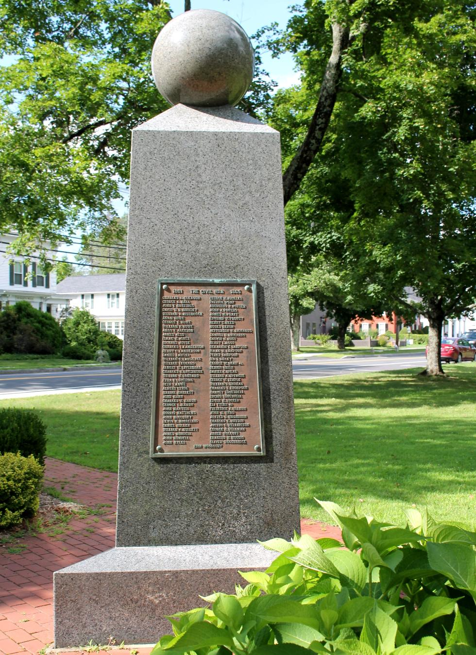 West Brookfield Massachusetts Civil War Memorial