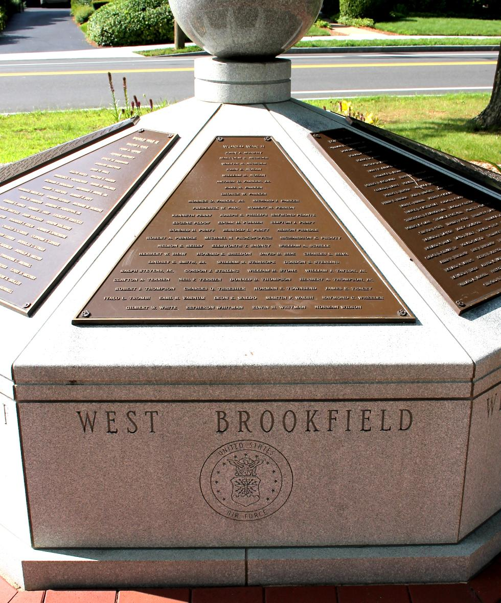 West Brookfield World War II Veterans Memorial